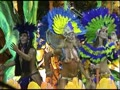 Topless dancers at Rio Carnaval